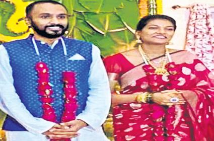 Lady Ias Officer not taken leave her wedding