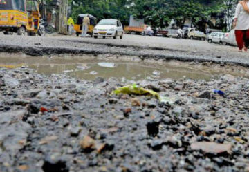 Hyderabad Roads damaged