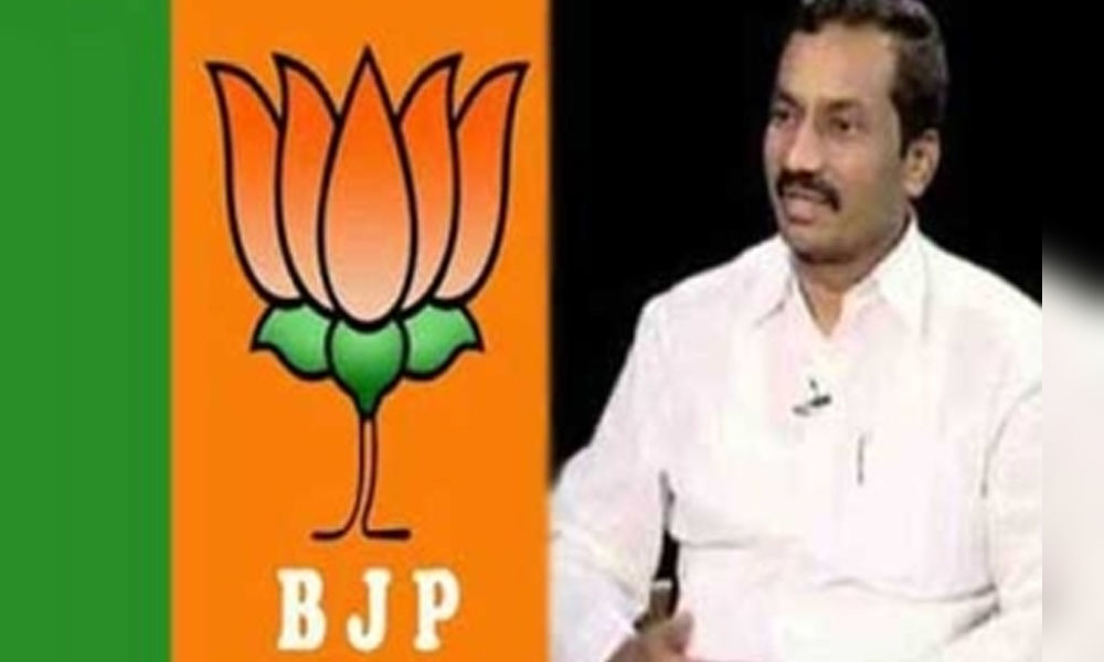 Kamalakar Reddy Hard comments On Dubbaka Bjp Candidate Rangunandan rao