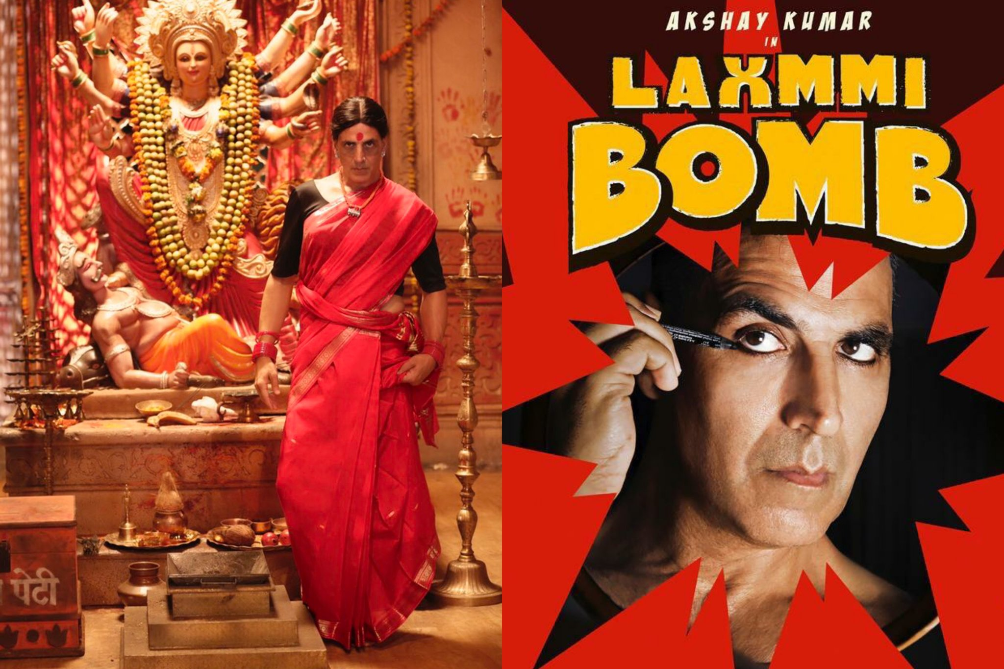 Laxmi bomb trailer released