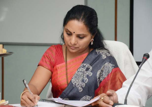 TRS Ex Mp Kavitha will get state cabinate?