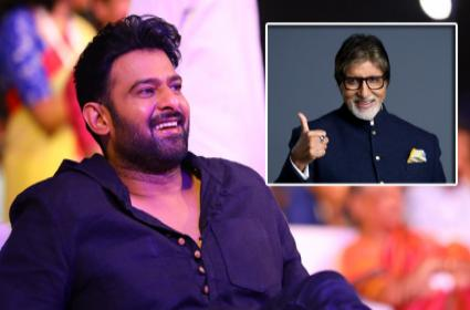 Amithab will act in Prabhas movie