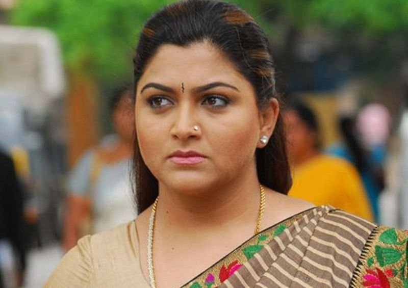 Tamil actress Kushboo join in BJP