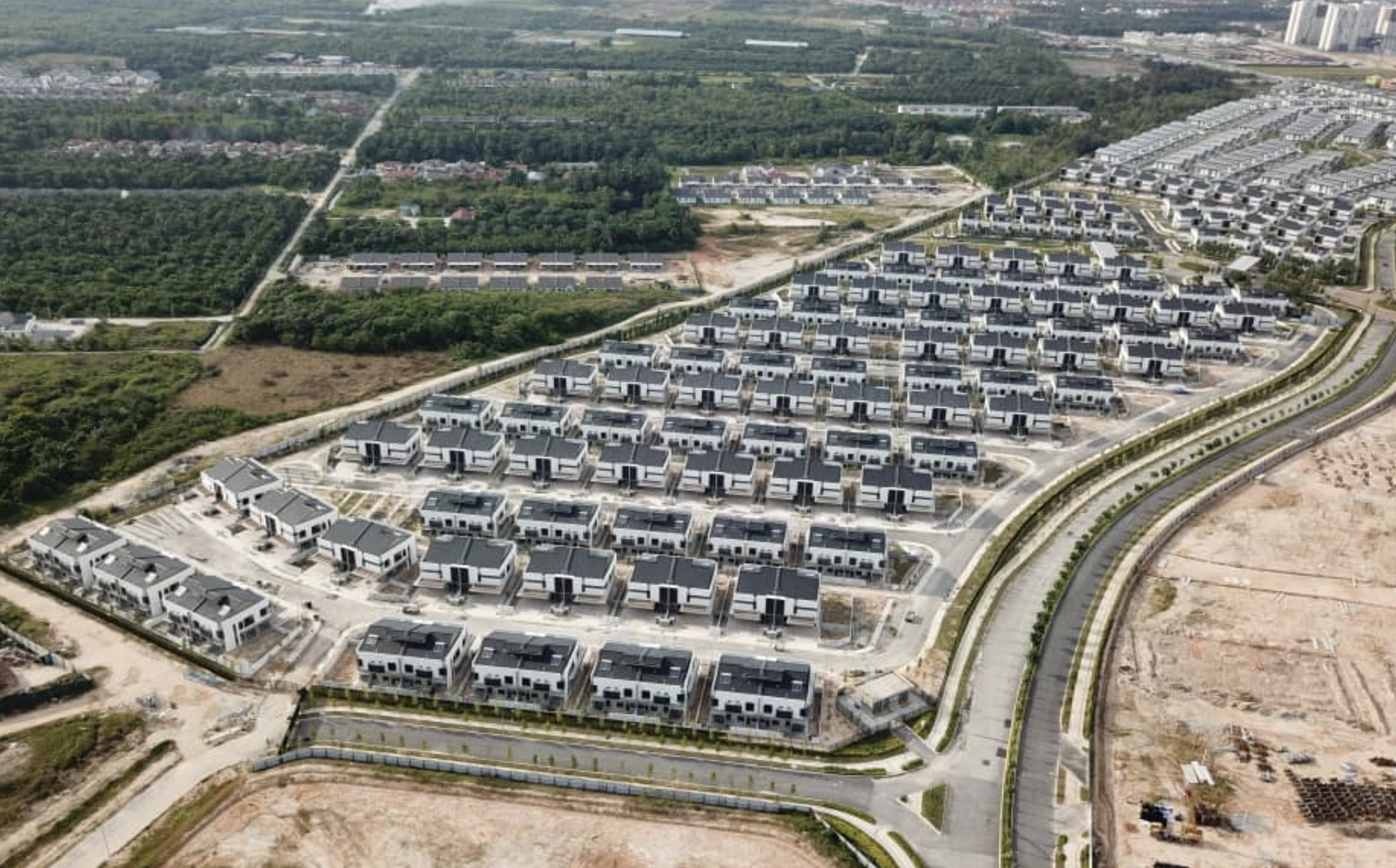 New Integrated Townships @ ORR