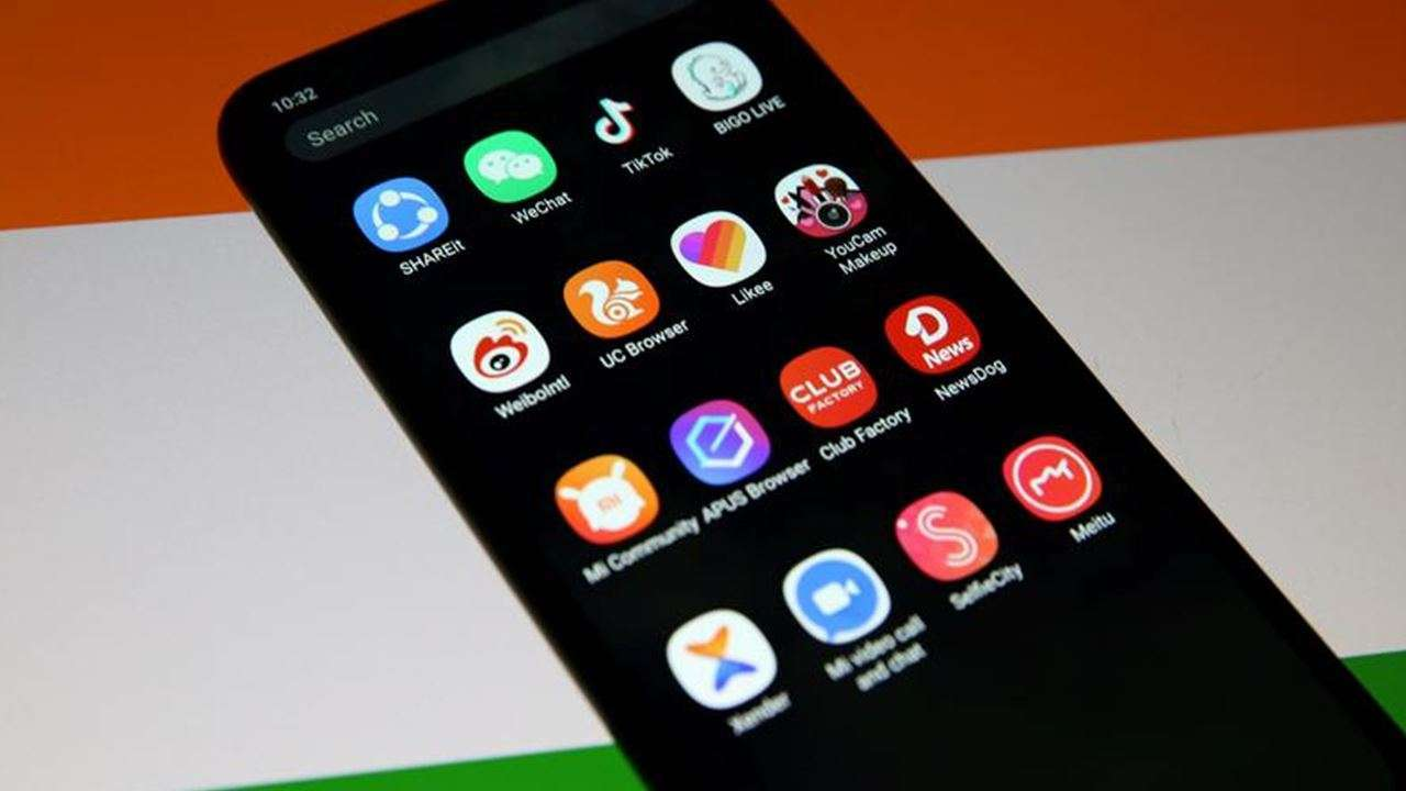INDIA BANS 43 APPS