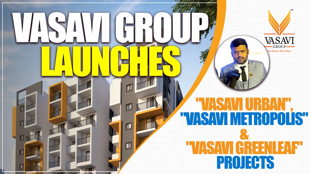 vasavi group three new projects