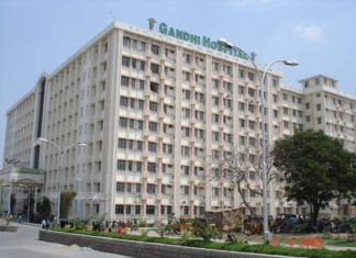 GANDHI IS COVID HOSPITAL NOW
